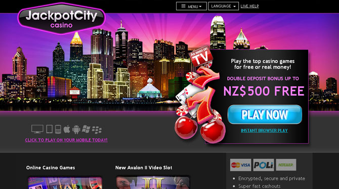 Play The Discovery Slots Online at Casino.com NZ