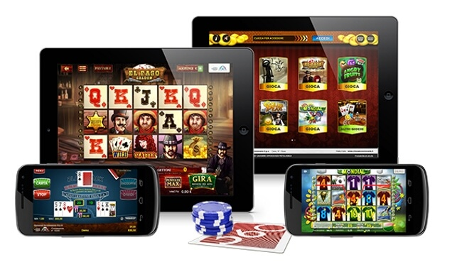 Which devices can you use to play casino games?
