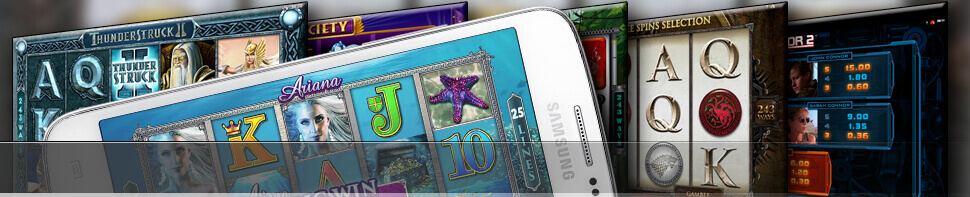 Strip of Android Pokies Apps
